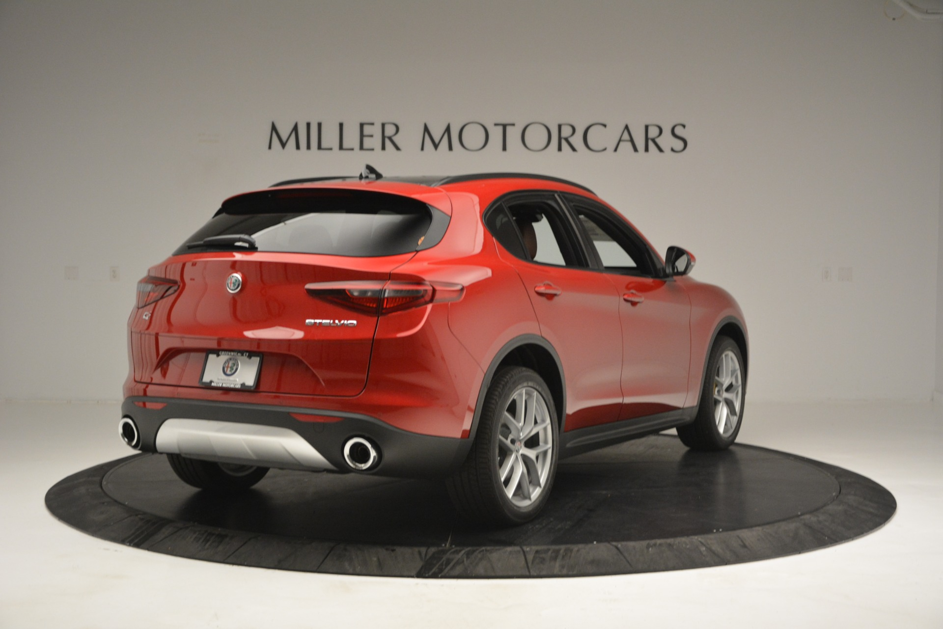New 2019 Alfa Romeo Stelvio Ti Sport Q4 For Sale In Greenwich, CT 2747_p7