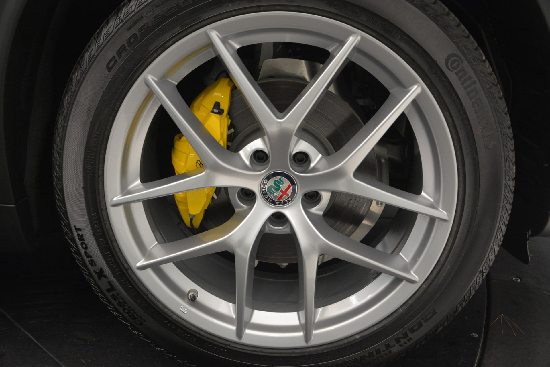 New 2019 Alfa Romeo Stelvio Ti Sport Q4 For Sale In Greenwich, CT 2748_p25
