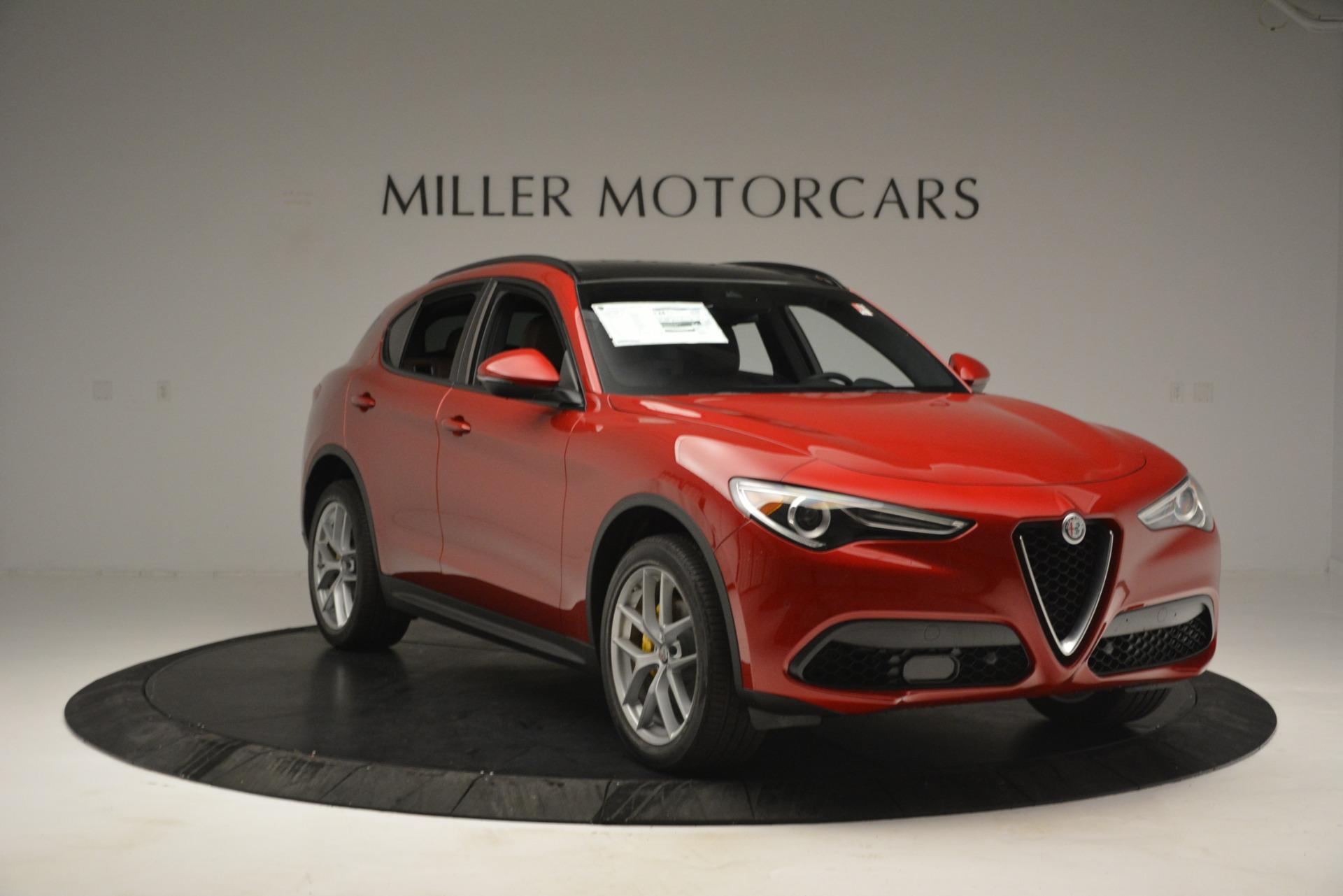 New 2019 Alfa Romeo Stelvio Ti Sport Q4 For Sale In Greenwich, CT 2749_p11