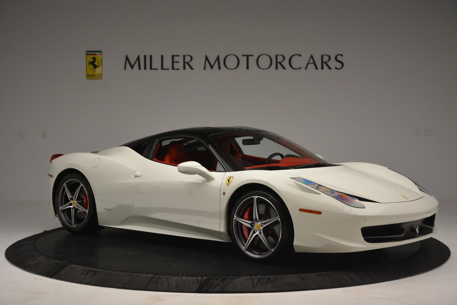 Used 2012 Ferrari 458 Italia  For Sale In Greenwich, CT 2781_p10