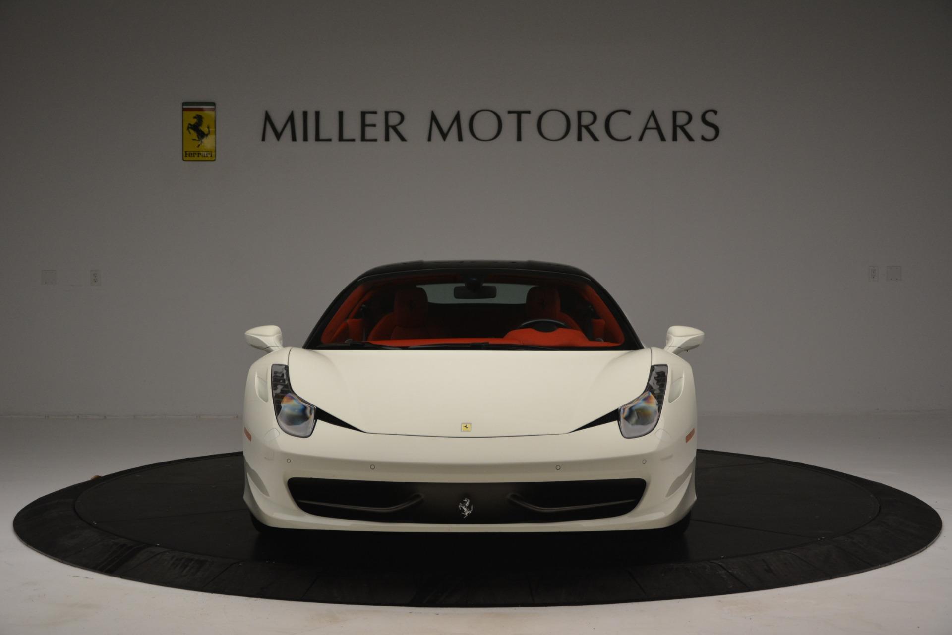 Used 2012 Ferrari 458 Italia  For Sale In Greenwich, CT 2781_p12