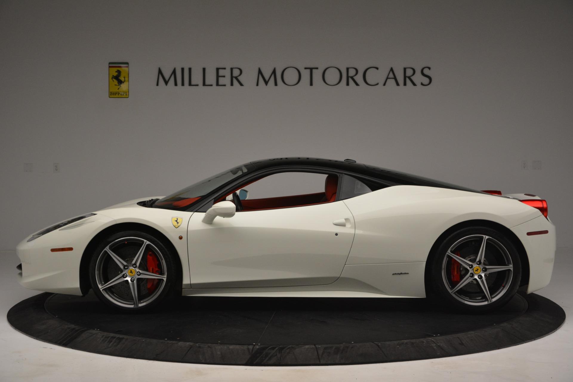 Used 2012 Ferrari 458 Italia  For Sale In Greenwich, CT 2781_p3