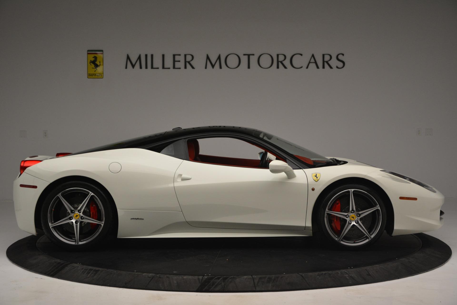 Used 2012 Ferrari 458 Italia  For Sale In Greenwich, CT 2781_p9