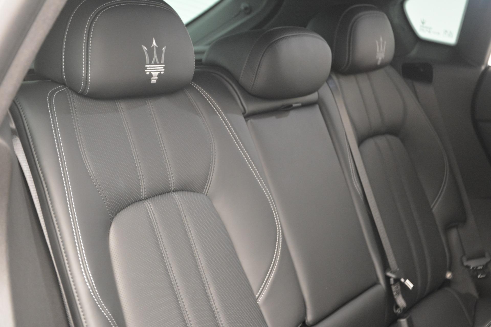 New 2019 Maserati Levante Q4 GranSport For Sale In Greenwich, CT 2807_p34