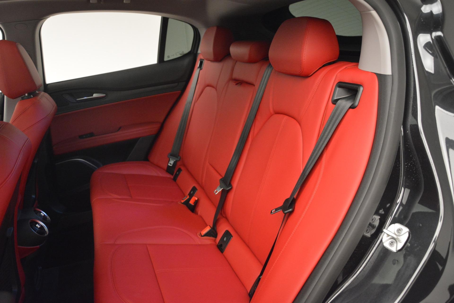 New 2019 Alfa Romeo Stelvio Q4 For Sale In Greenwich, CT 2818_p17