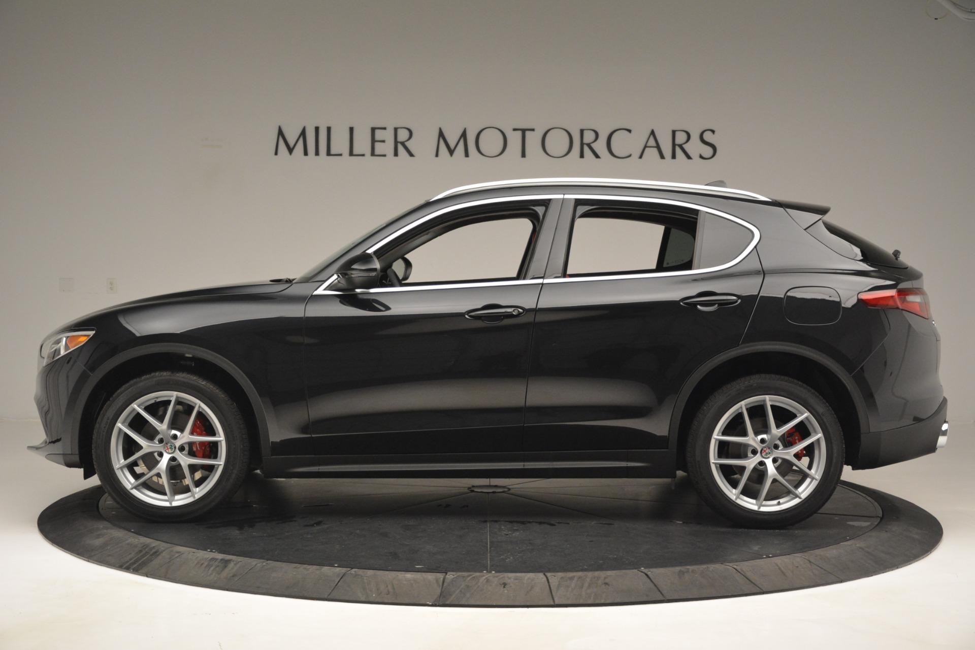 New 2019 Alfa Romeo Stelvio Q4 For Sale In Greenwich, CT 2818_p3