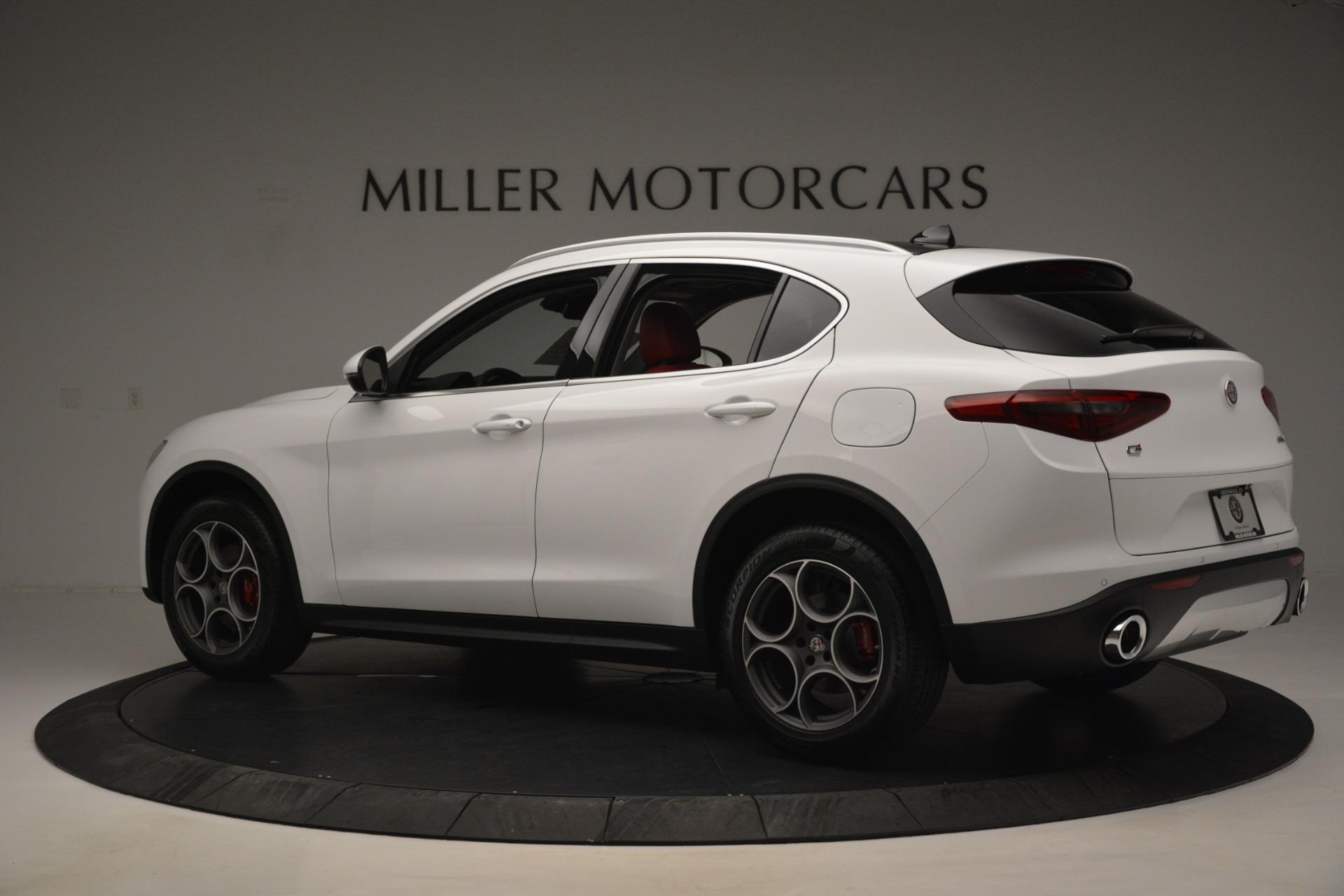 New 2019 Alfa Romeo Stelvio Q4 For Sale In Greenwich, CT 2819_p4