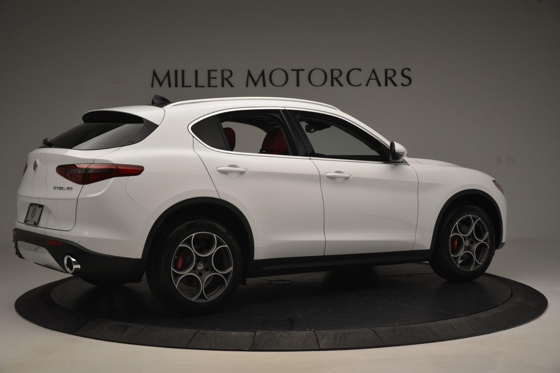 New 2019 Alfa Romeo Stelvio Q4 For Sale In Greenwich, CT 2819_p8