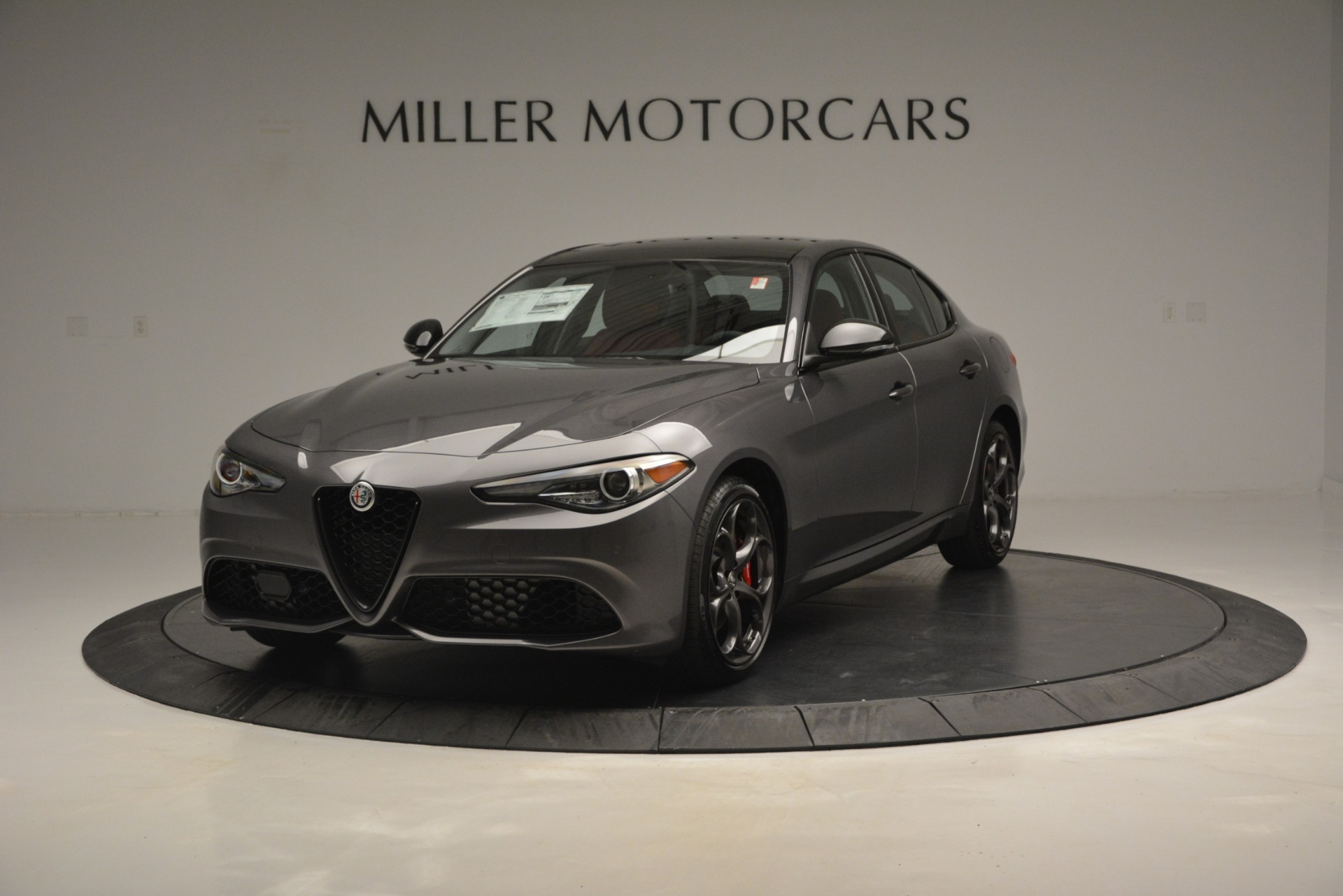 New 2019 Alfa Romeo Giulia Ti Sport Q4 For Sale In Greenwich, CT 2824_main