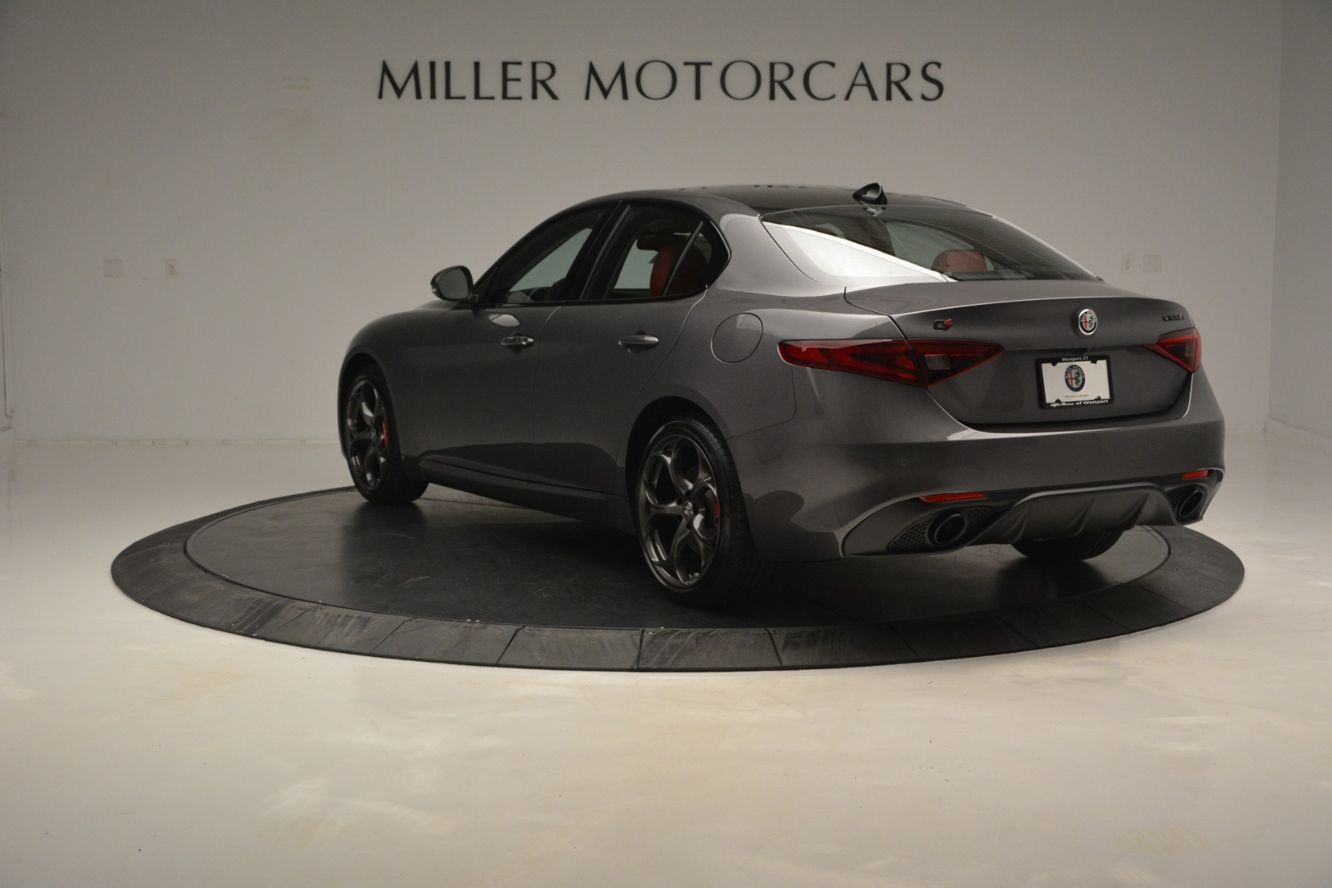 New 2019 Alfa Romeo Giulia Ti Sport Q4 For Sale In Greenwich, CT 2824_p5