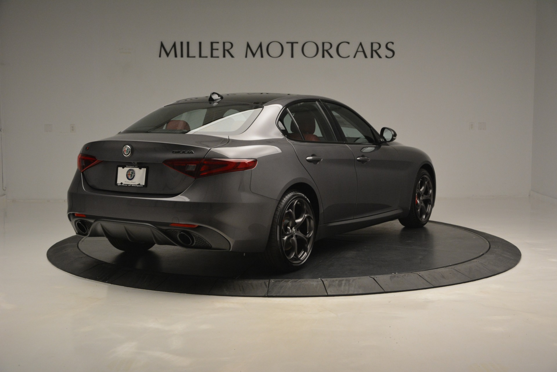 New 2019 Alfa Romeo Giulia Ti Sport Q4 For Sale In Greenwich, CT 2824_p7