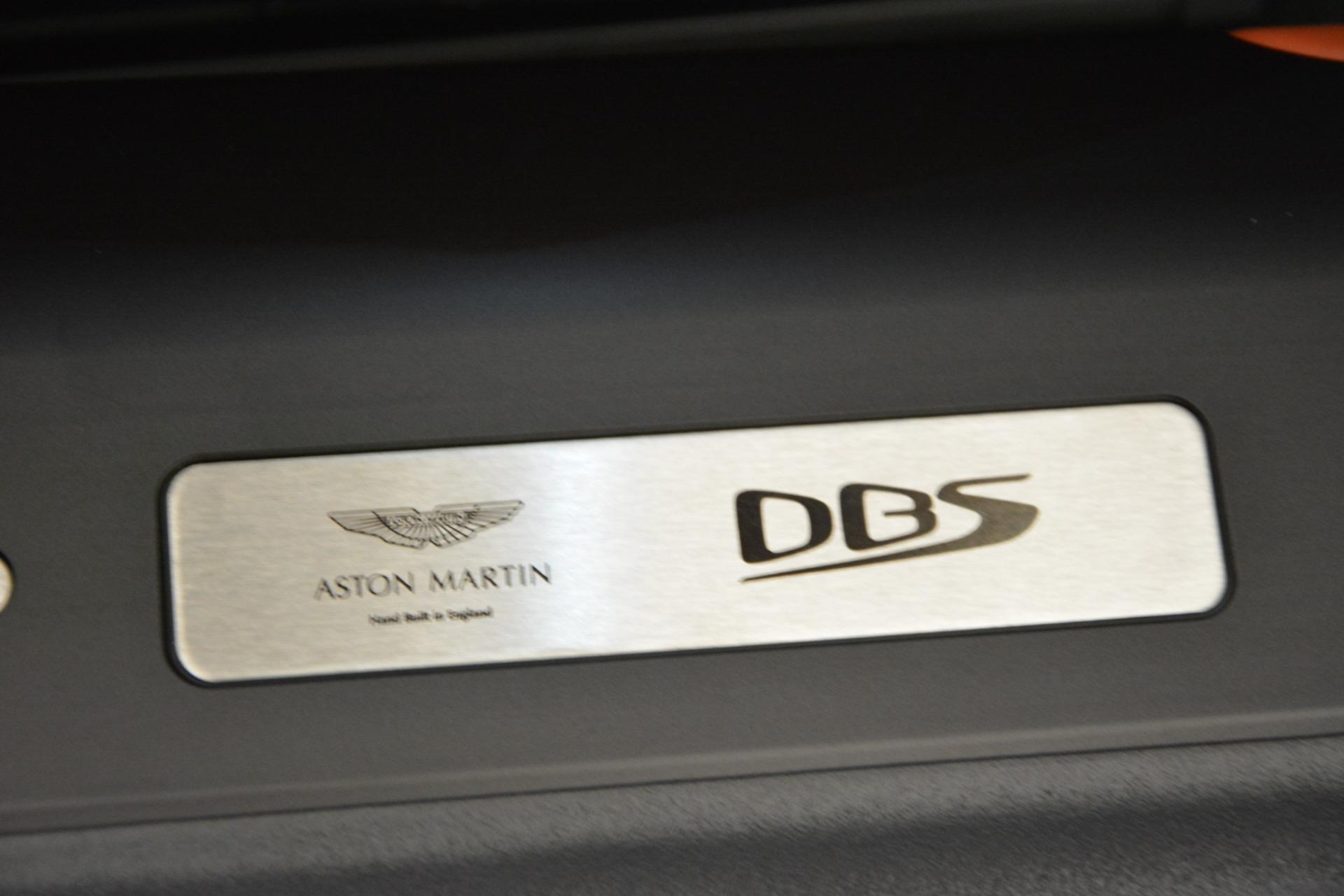New 2019 Aston Martin DBS Superleggera For Sale In Greenwich, CT 2827_p27