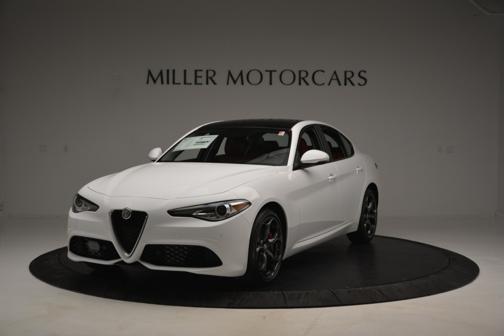 New 2019 Alfa Romeo Giulia Ti Sport Q4 For Sale In Greenwich, CT 2839_main