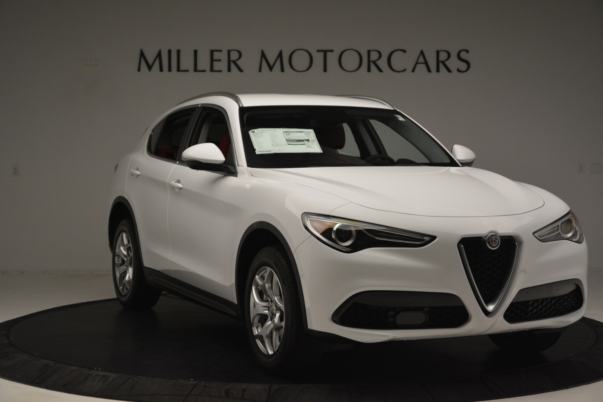 New 2019 Alfa Romeo Stelvio Q4 For Sale In Greenwich, CT 2849_p11