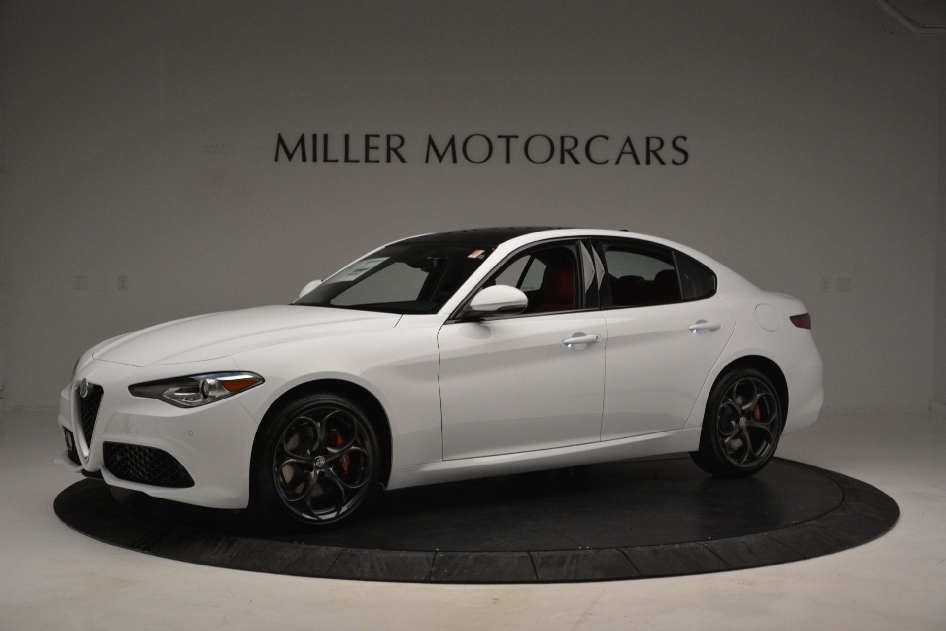 New 2019 Alfa Romeo Giulia Ti Sport Q4 For Sale In Greenwich, CT 2860_p2