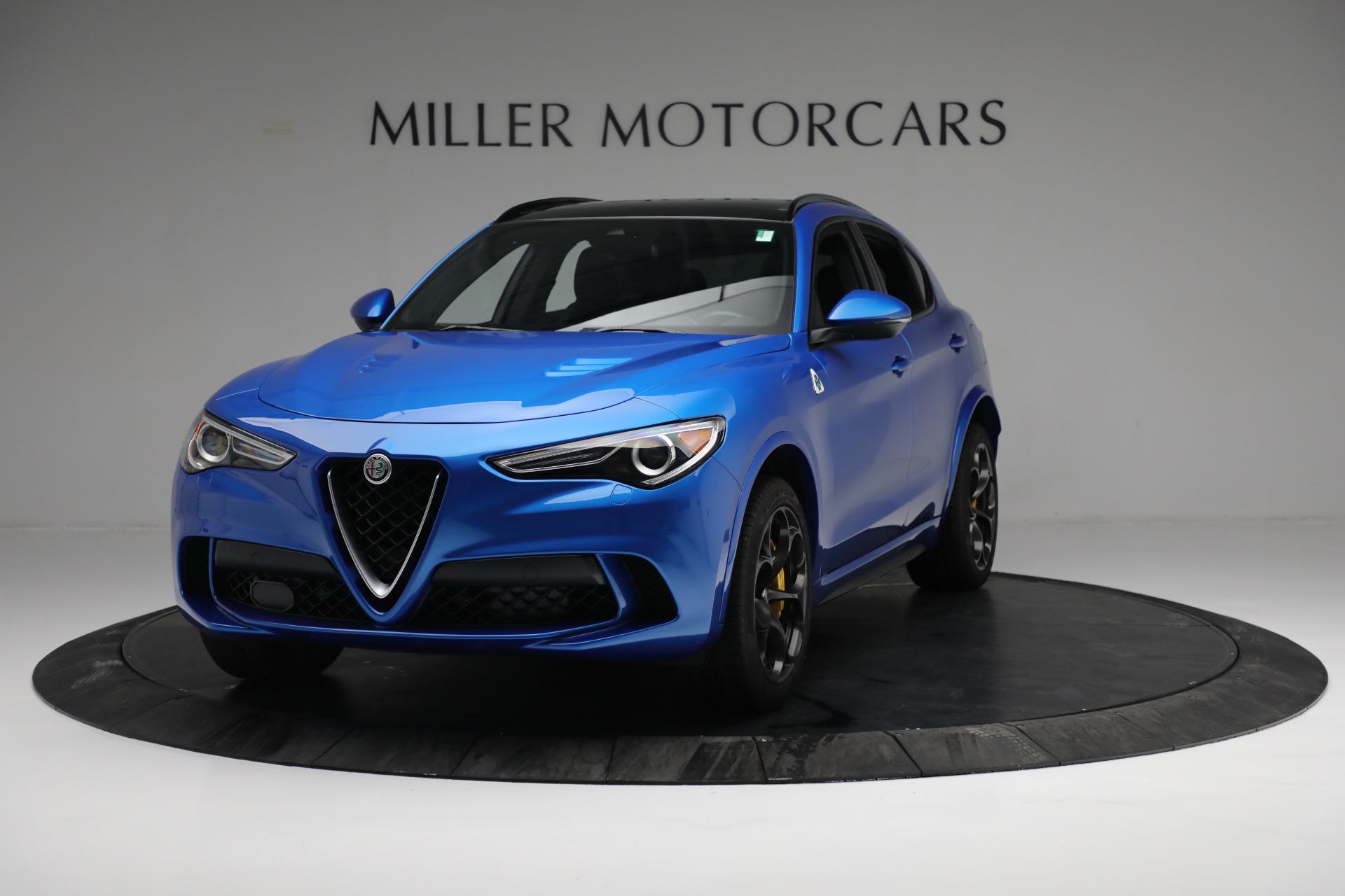 New 2019 Alfa Romeo Stelvio Quadrifoglio For Sale In Greenwich, CT 2867_main