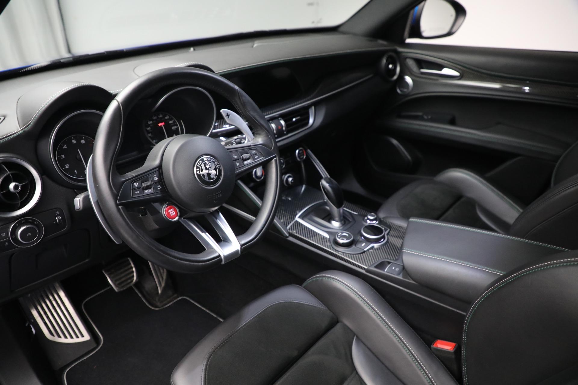 New 2019 Alfa Romeo Stelvio Quadrifoglio For Sale In Greenwich, CT 2867_p13