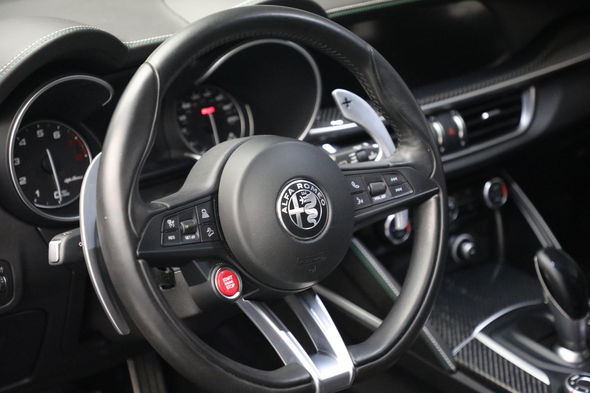 New 2019 Alfa Romeo Stelvio Quadrifoglio For Sale In Greenwich, CT 2867_p17