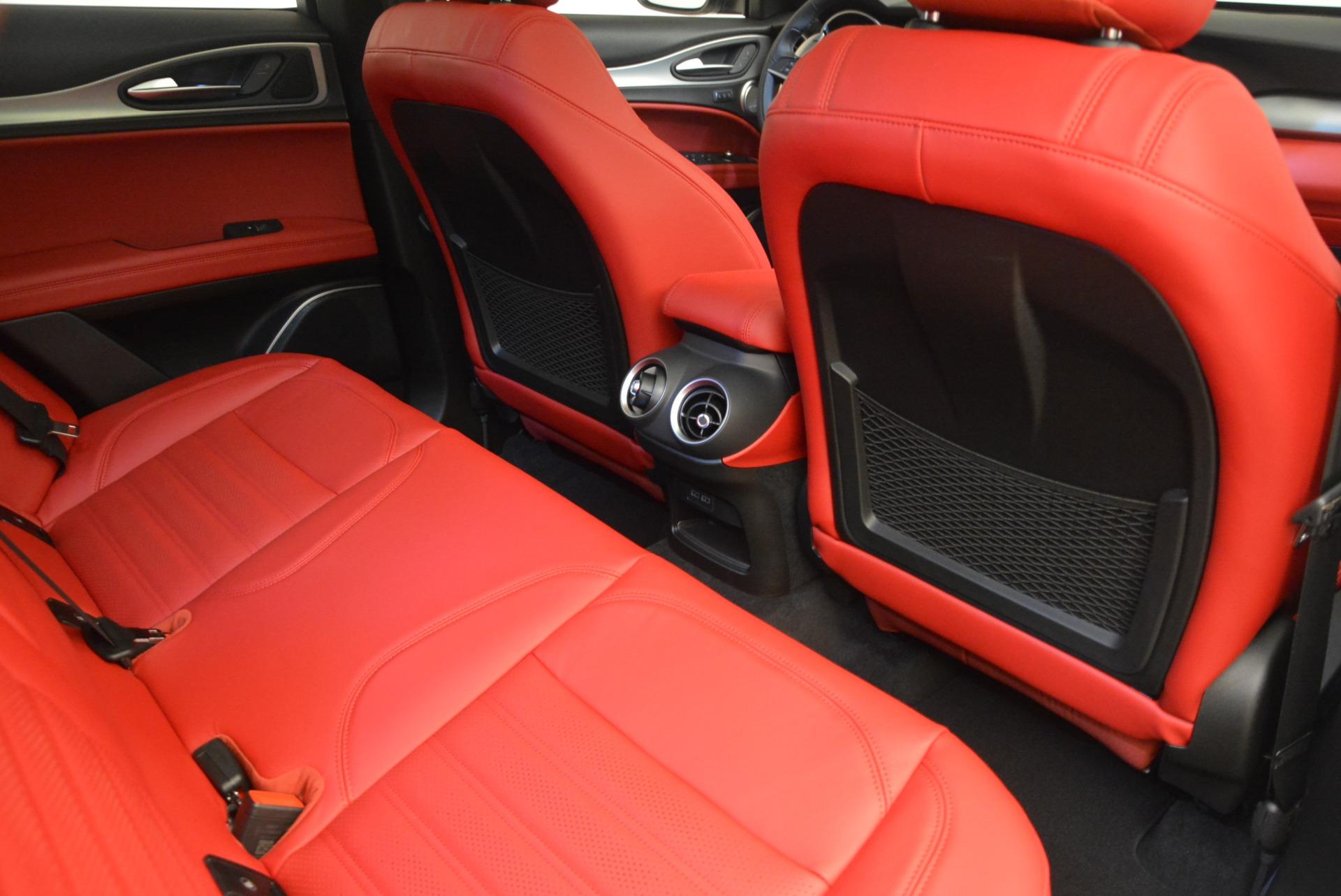 New 2019 Alfa Romeo Stelvio Ti Sport Q4 For Sale In Greenwich, CT 2878_p22