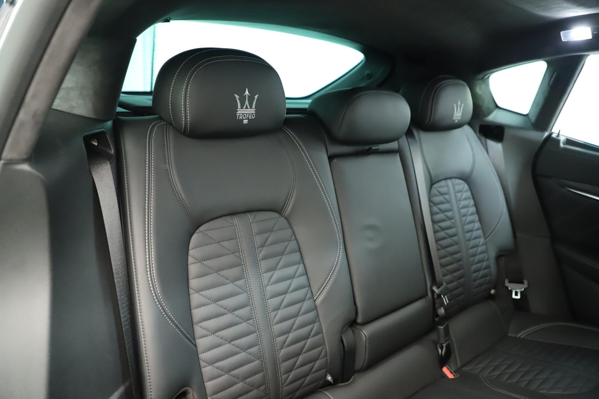 New 2019 Maserati Levante Trofeo For Sale In Greenwich, CT 2884_p27