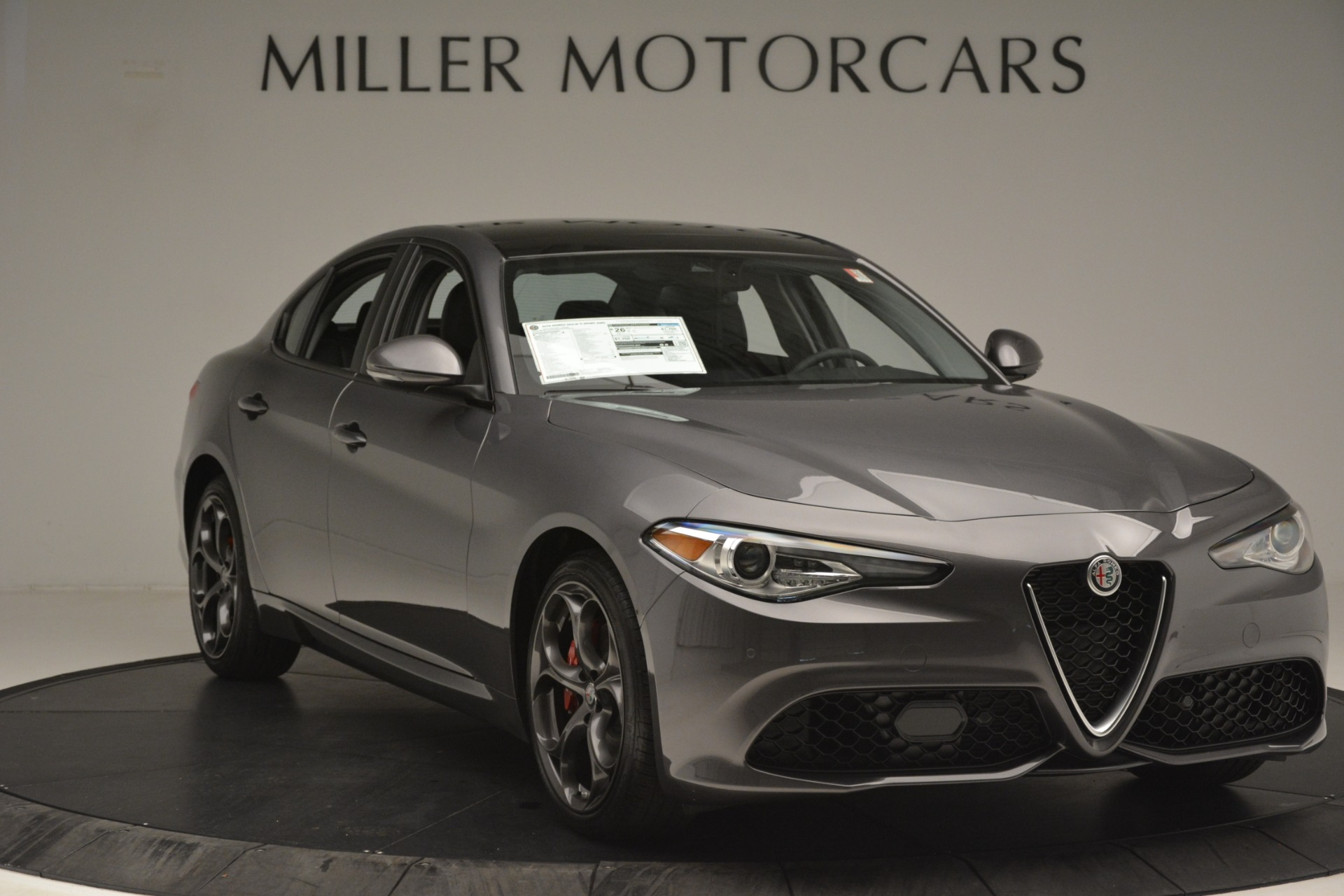 New 2019 Alfa Romeo Giulia Ti Sport Q4 For Sale In Greenwich, CT 2911_p11