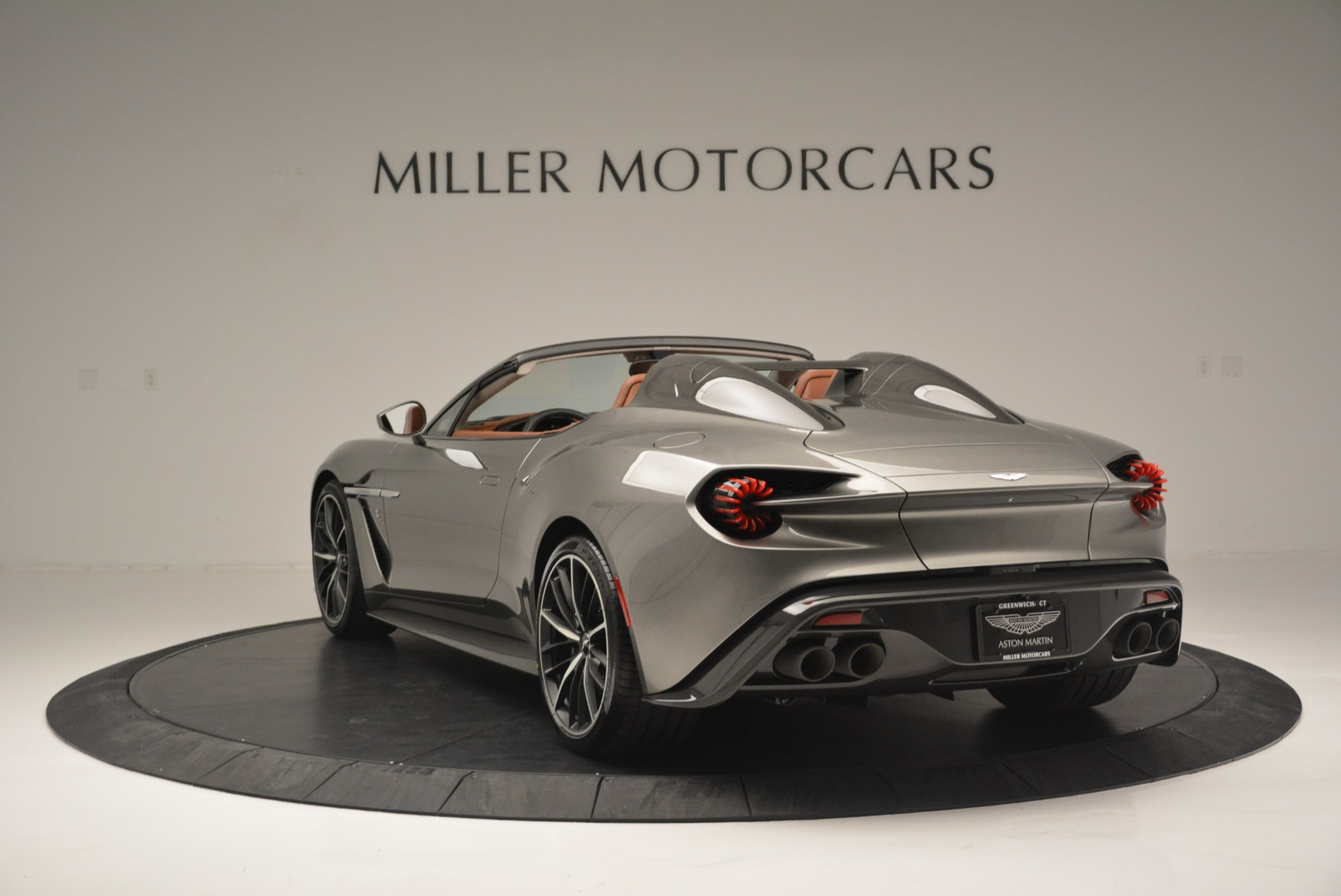 Used 2018 Aston Martin Zagato Speedster Convertible For Sale In Greenwich, CT 2916_p5