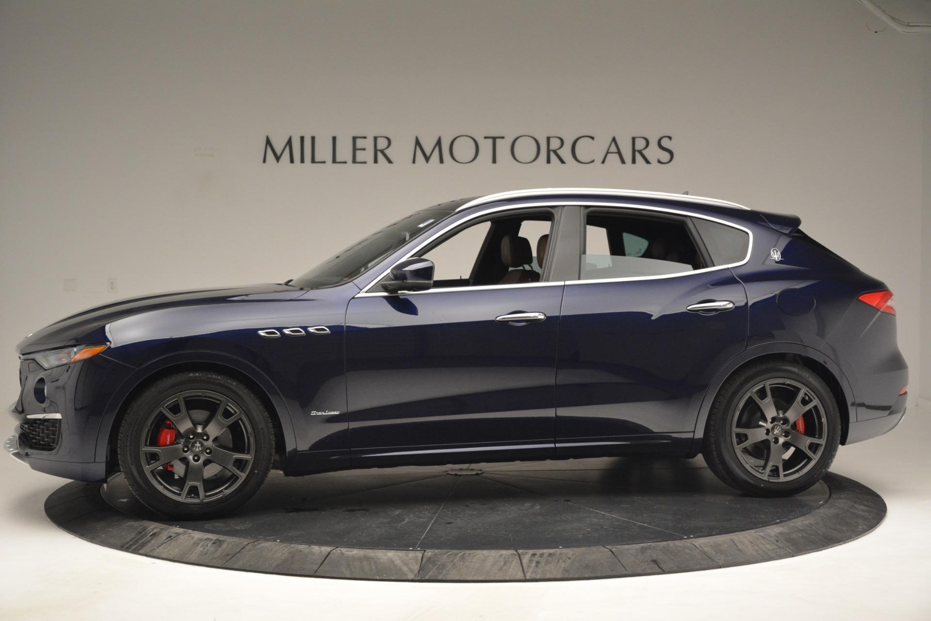 New 2019 Maserati Levante Q4 GranLusso For Sale In Greenwich, CT 2933_p3
