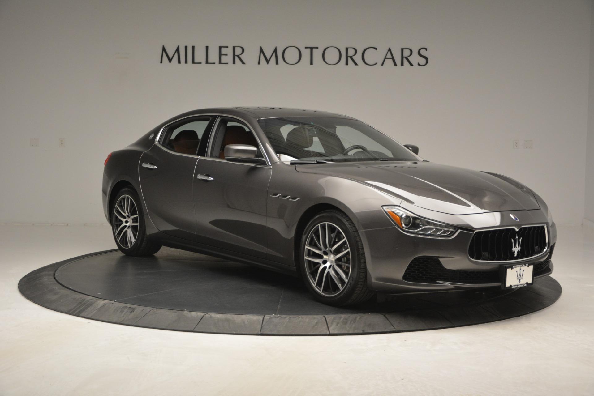 Used 2015 Maserati Ghibli S Q4 For Sale In Greenwich, CT 2941_p12