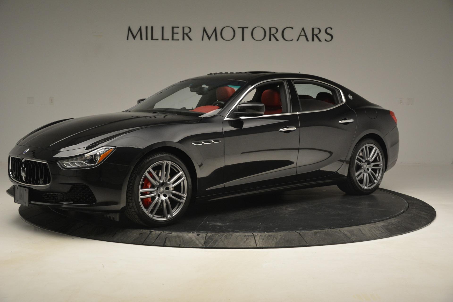 Used 2016 Maserati Ghibli S Q4 For Sale In Greenwich, CT 2945_p2