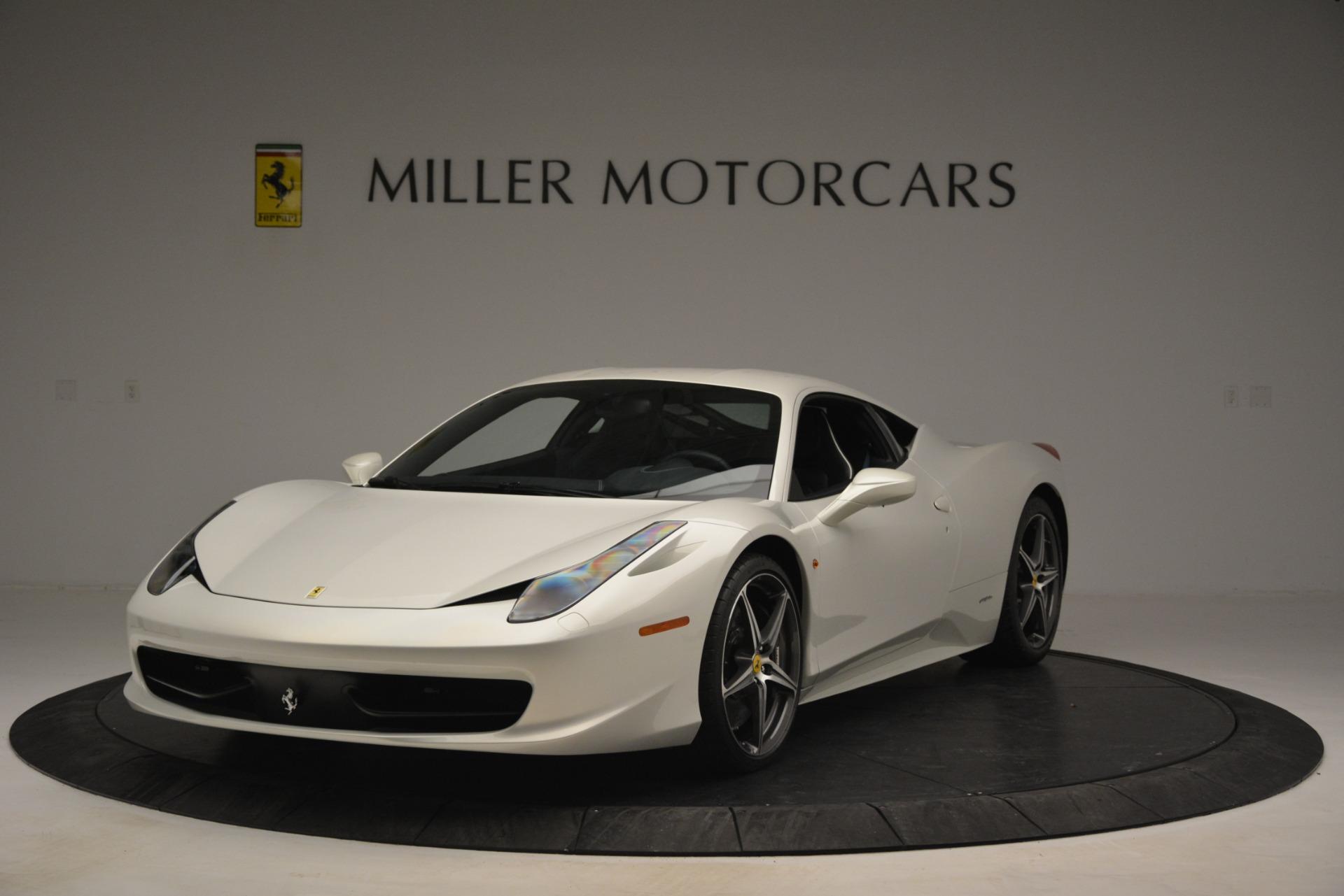 Used 2014 Ferrari 458 Italia  For Sale In Greenwich, CT 2959_main