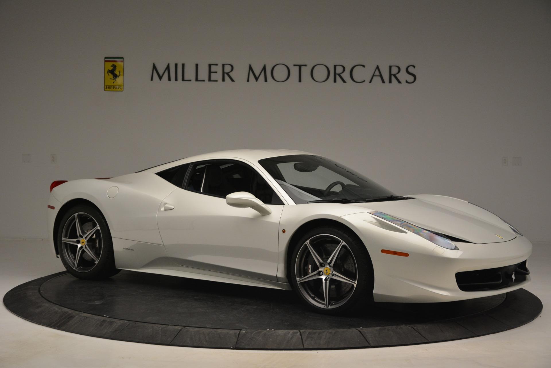 Used 2014 Ferrari 458 Italia  For Sale In Greenwich, CT 2959_p10