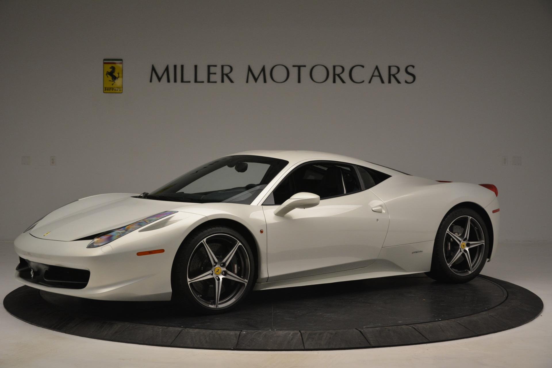 Used 2014 Ferrari 458 Italia  For Sale In Greenwich, CT 2959_p2