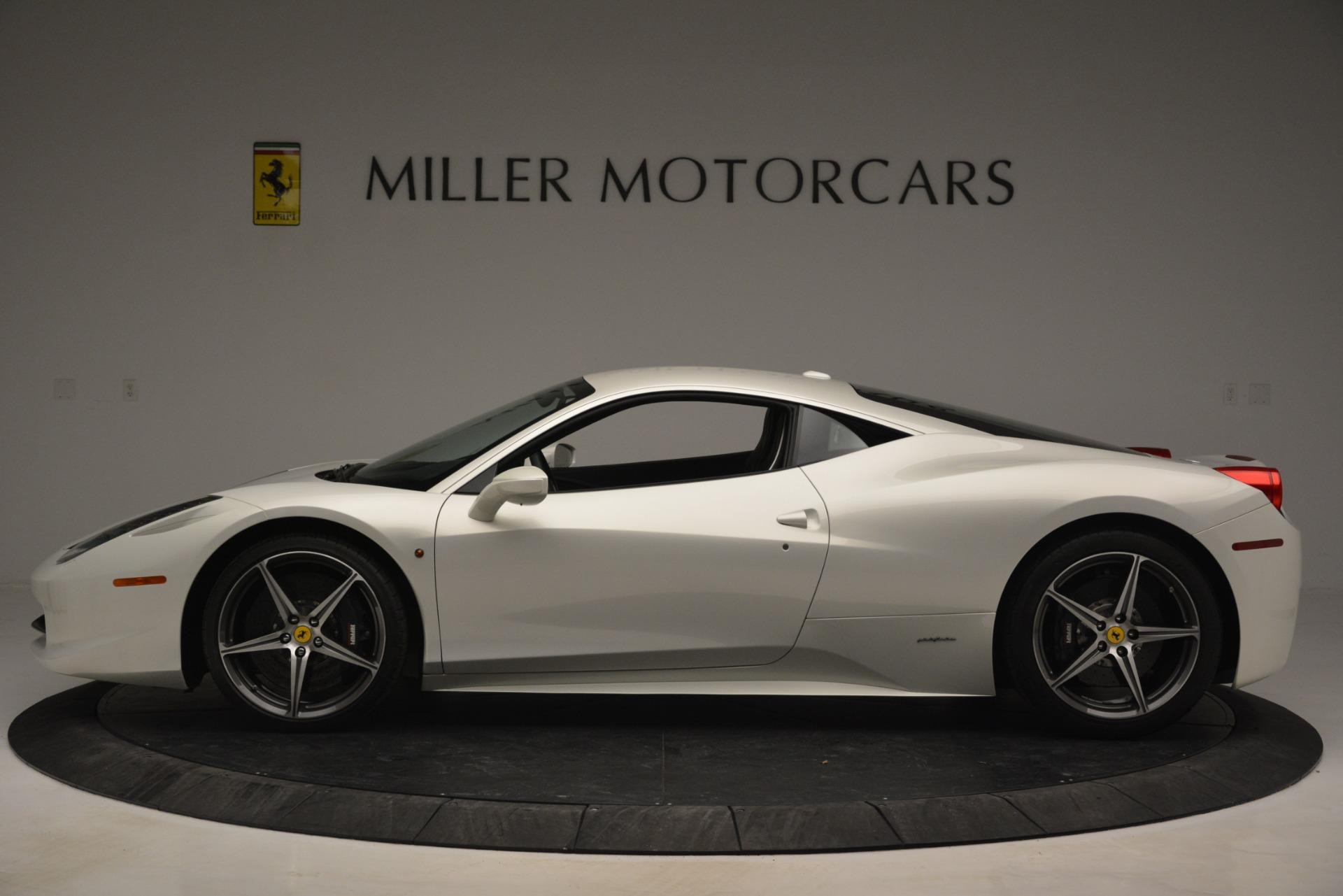 Used 2014 Ferrari 458 Italia  For Sale In Greenwich, CT 2959_p3