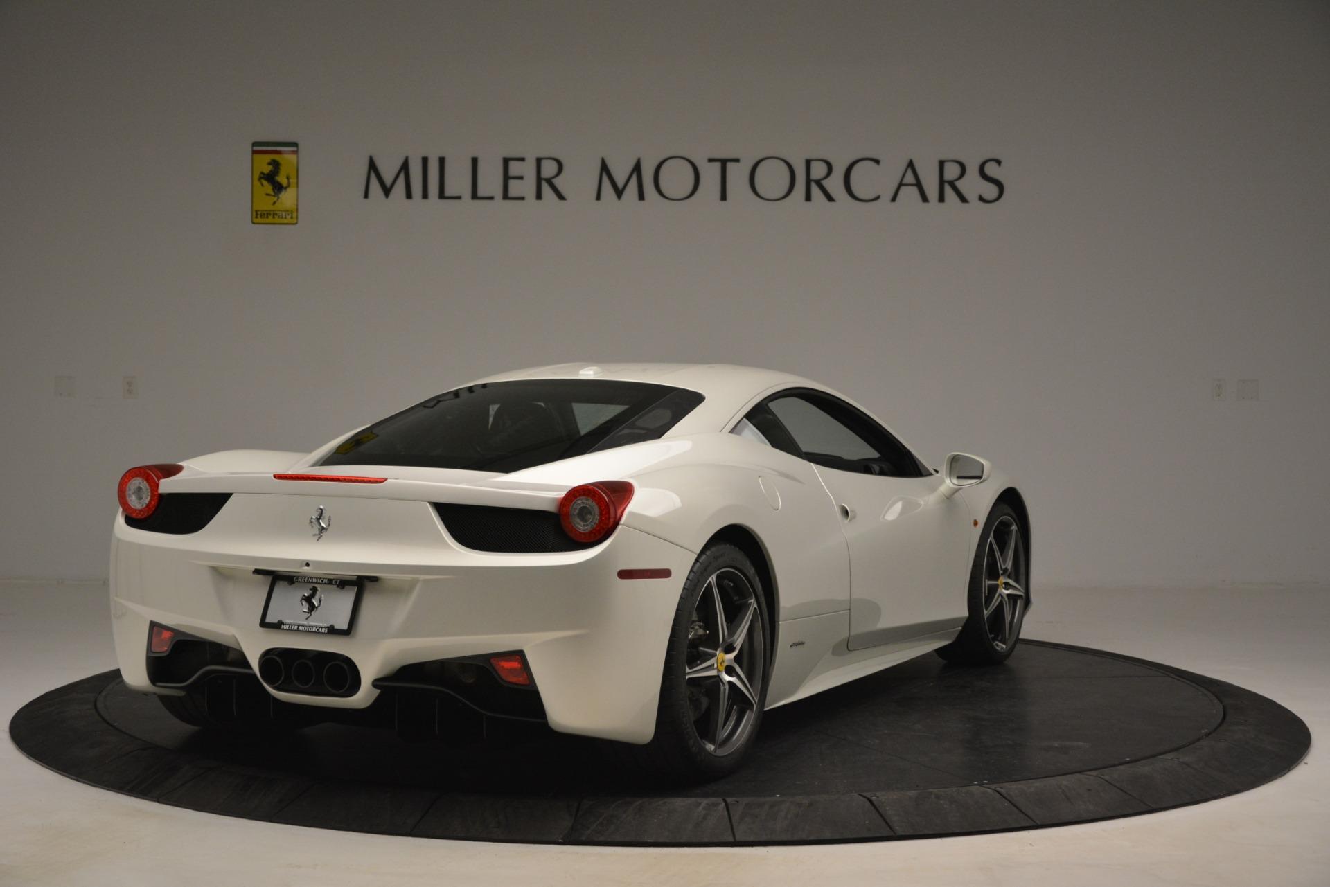 Used 2014 Ferrari 458 Italia  For Sale In Greenwich, CT 2959_p7