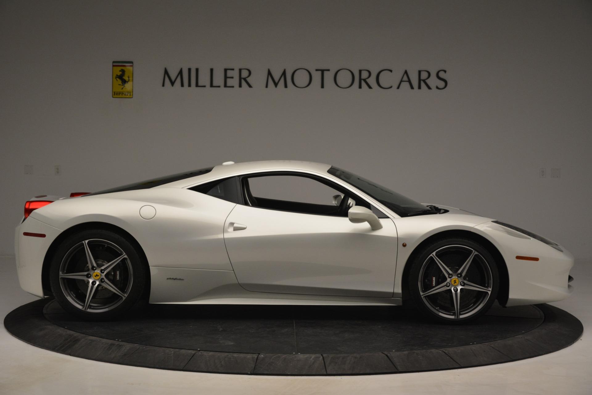 Used 2014 Ferrari 458 Italia  For Sale In Greenwich, CT 2959_p9