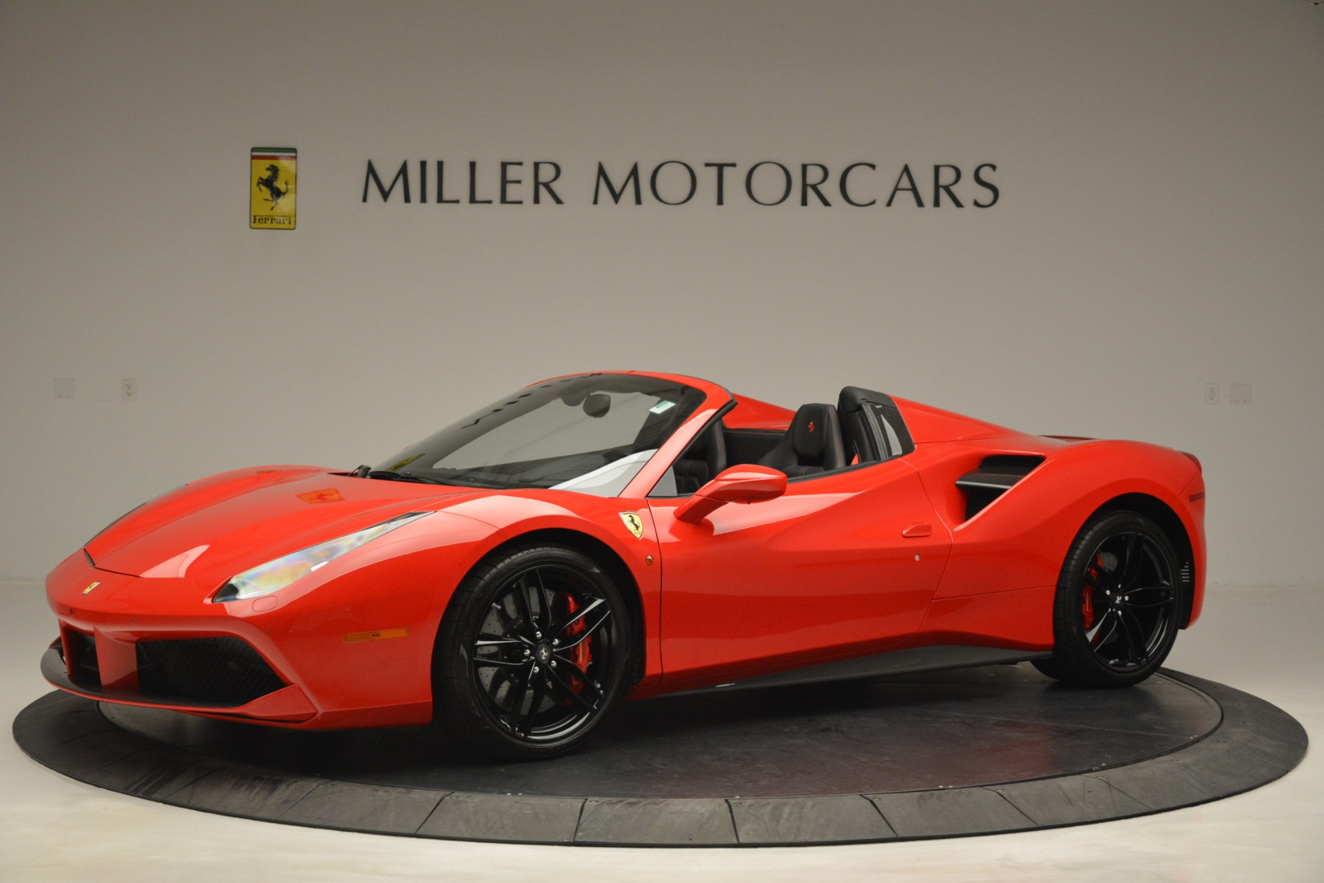 Used 2017 Ferrari 488 Spider  For Sale In Greenwich, CT 2965_p2