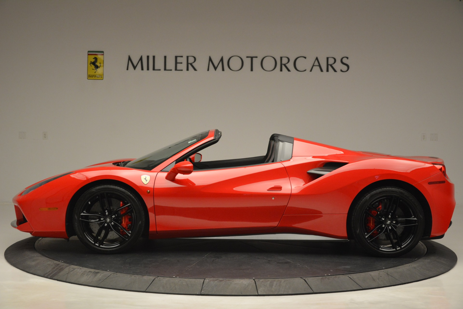 Used 2017 Ferrari 488 Spider  For Sale In Greenwich, CT 2965_p3