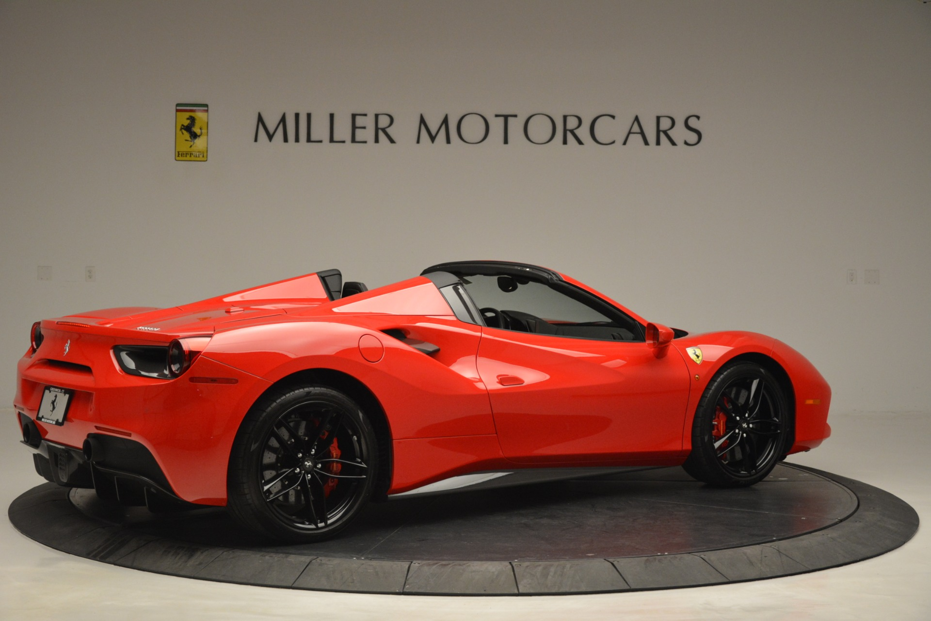 Used 2017 Ferrari 488 Spider  For Sale In Greenwich, CT 2965_p8