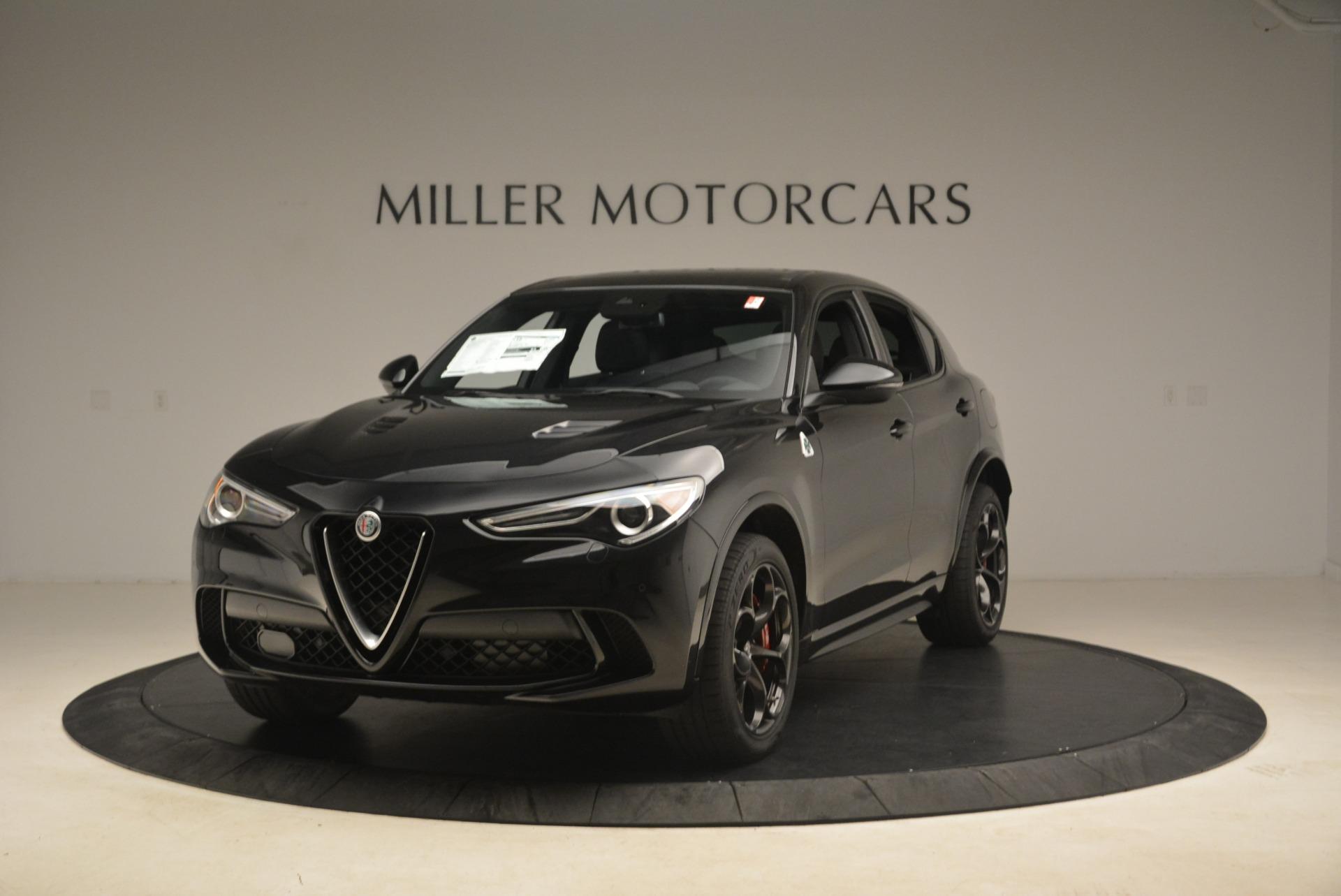 New 2019 Alfa Romeo Stelvio Quadrifoglio For Sale In Greenwich, CT 2976_main