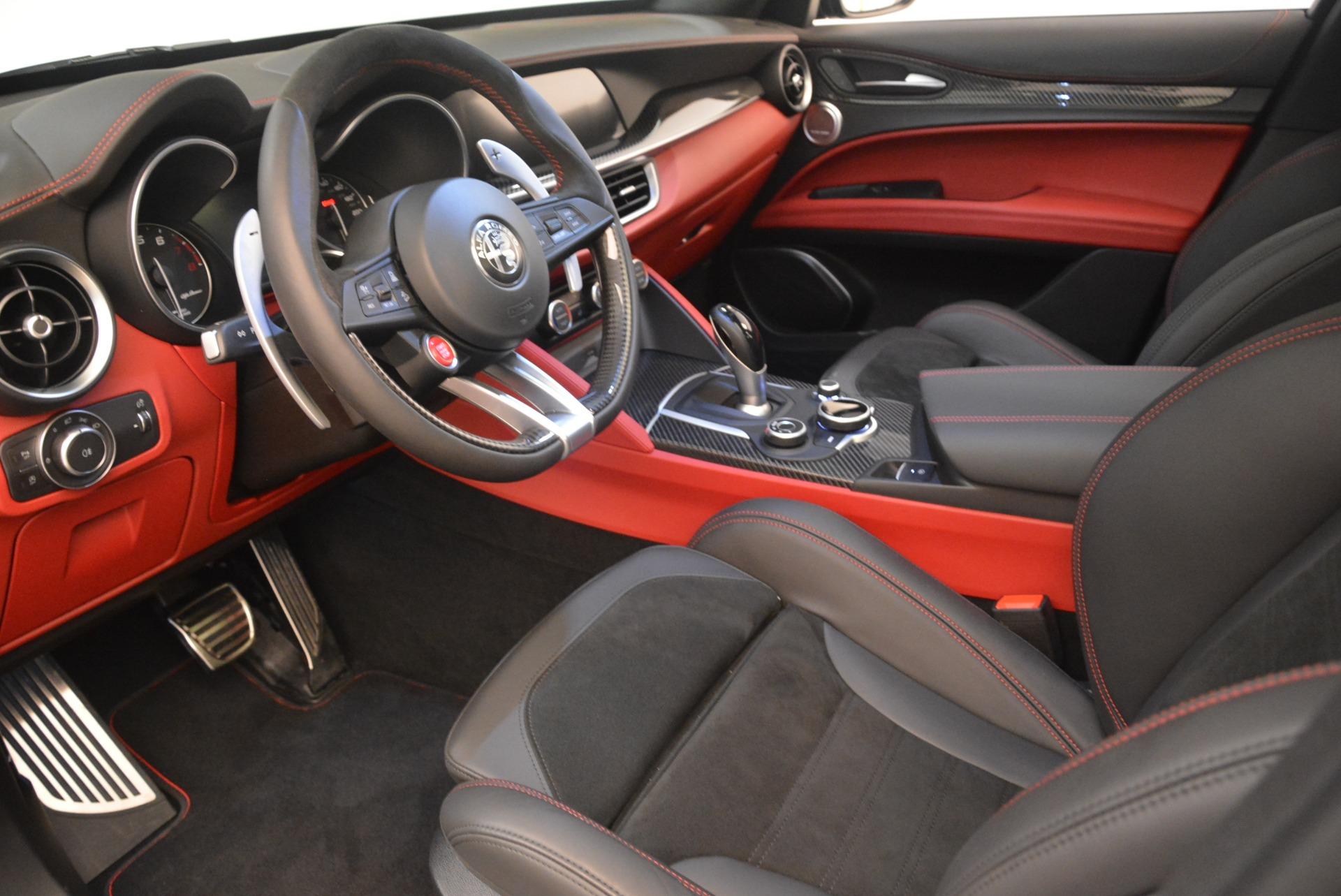 New 2019 Alfa Romeo Stelvio Quadrifoglio For Sale In Greenwich, CT 2976_p13