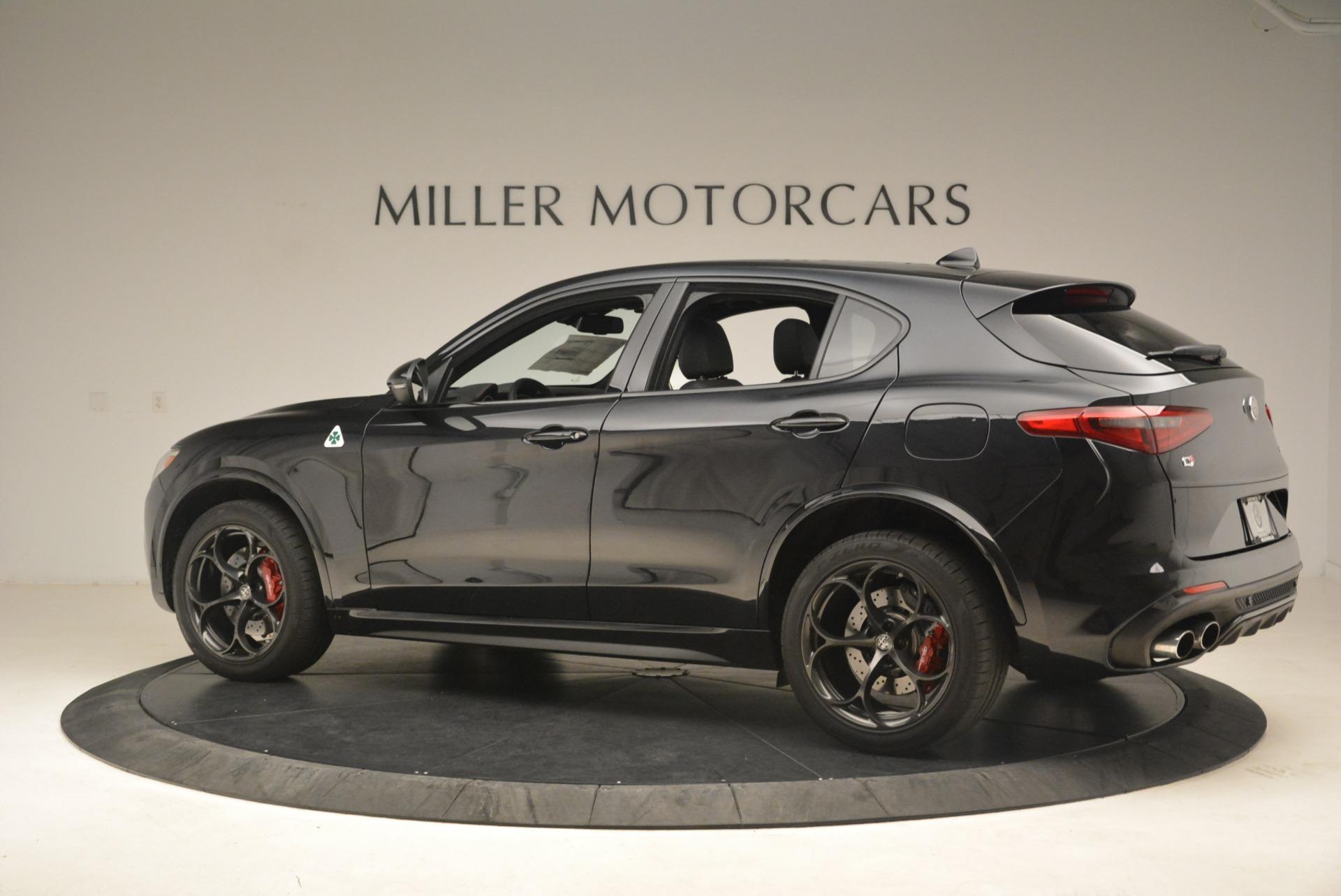 New 2019 Alfa Romeo Stelvio Quadrifoglio For Sale In Greenwich, CT 2976_p4