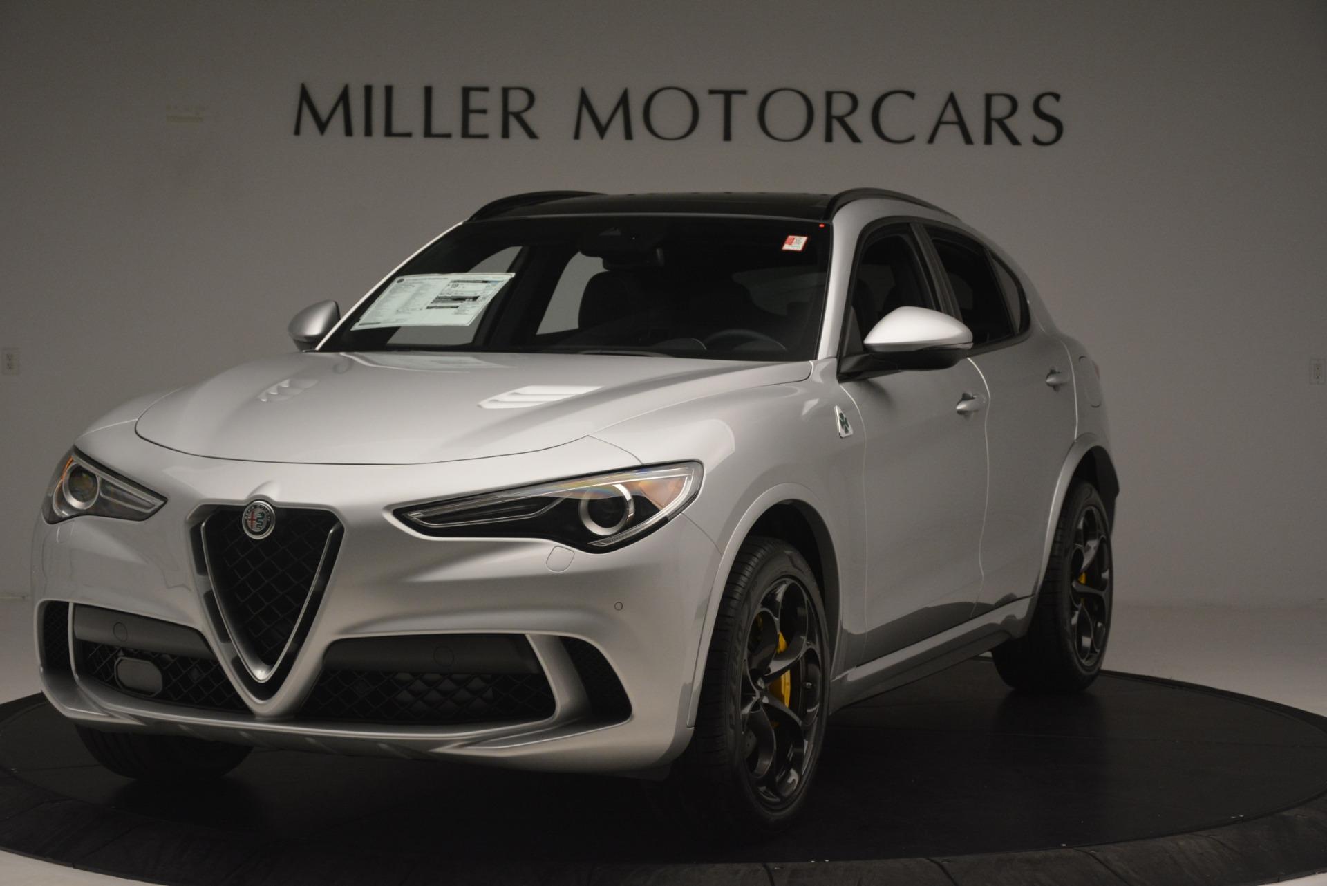 New 2019 Alfa Romeo Stelvio Quadrifoglio For Sale In Greenwich, CT 3037_main