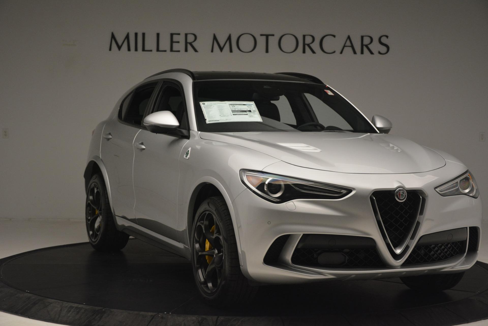 New 2019 Alfa Romeo Stelvio Quadrifoglio For Sale In Greenwich, CT 3037_p11