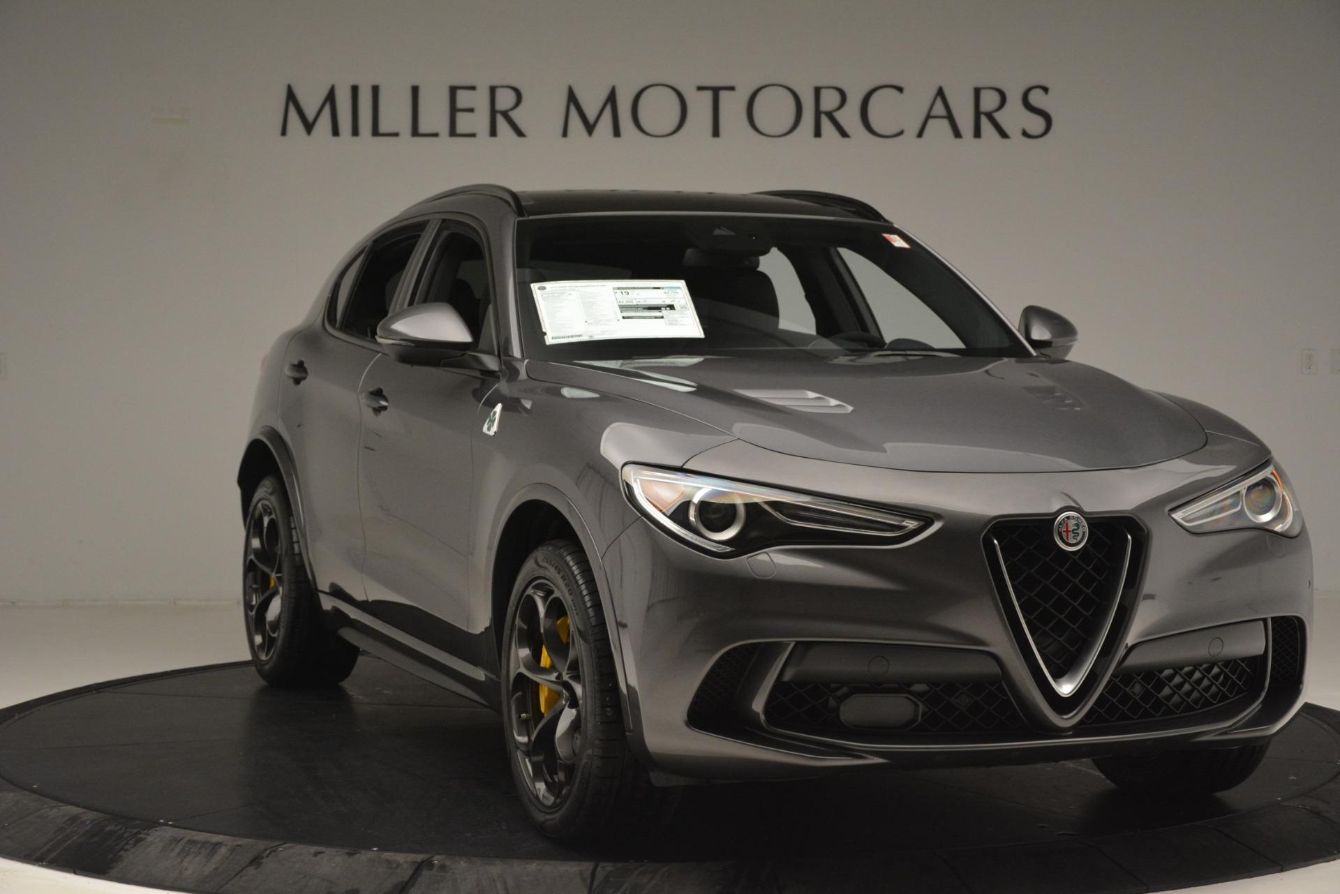 New 2019 Alfa Romeo Stelvio Quadrifoglio For Sale In Greenwich, CT 3038_p11
