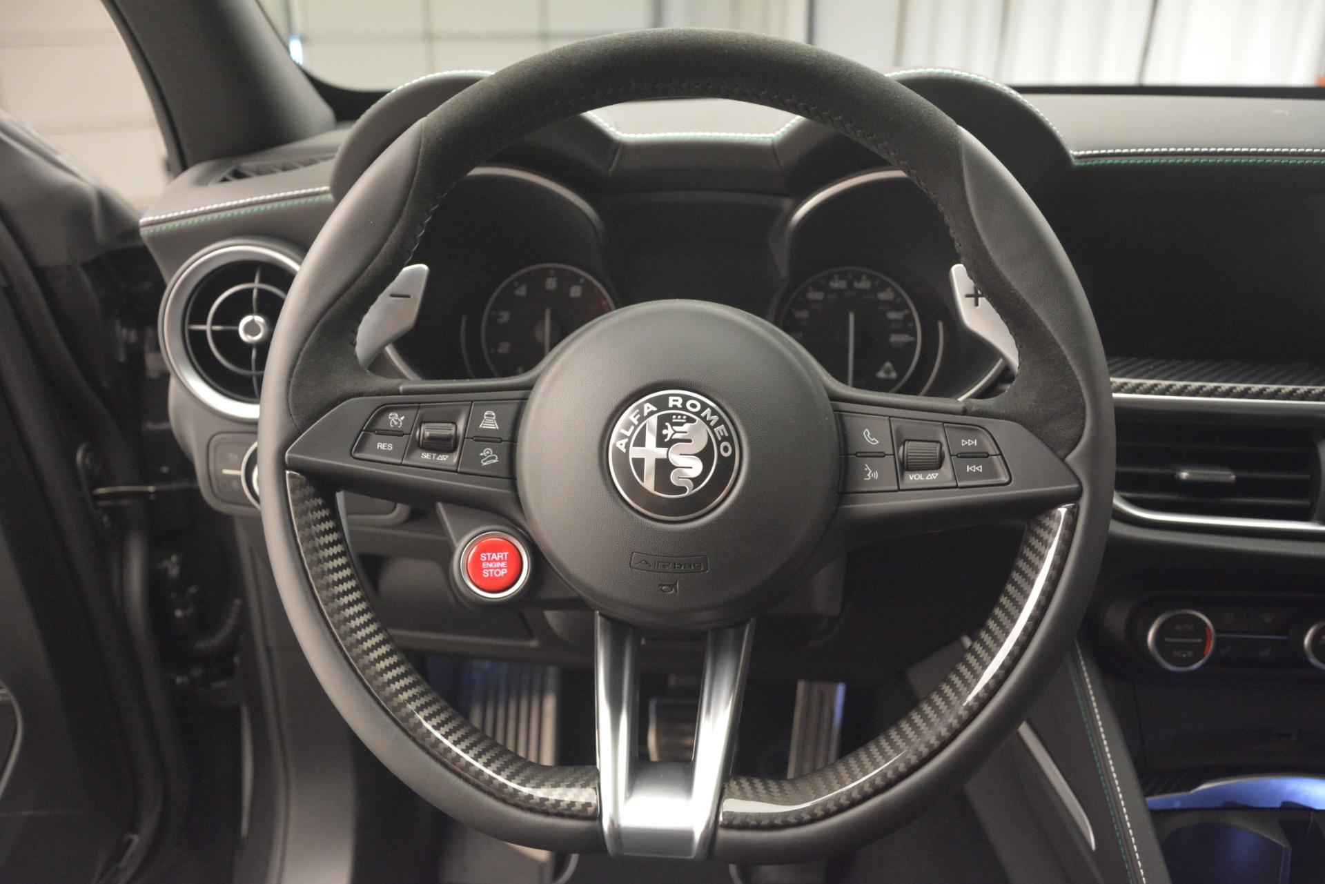 New 2019 Alfa Romeo Stelvio Quadrifoglio For Sale In Greenwich, CT 3038_p18