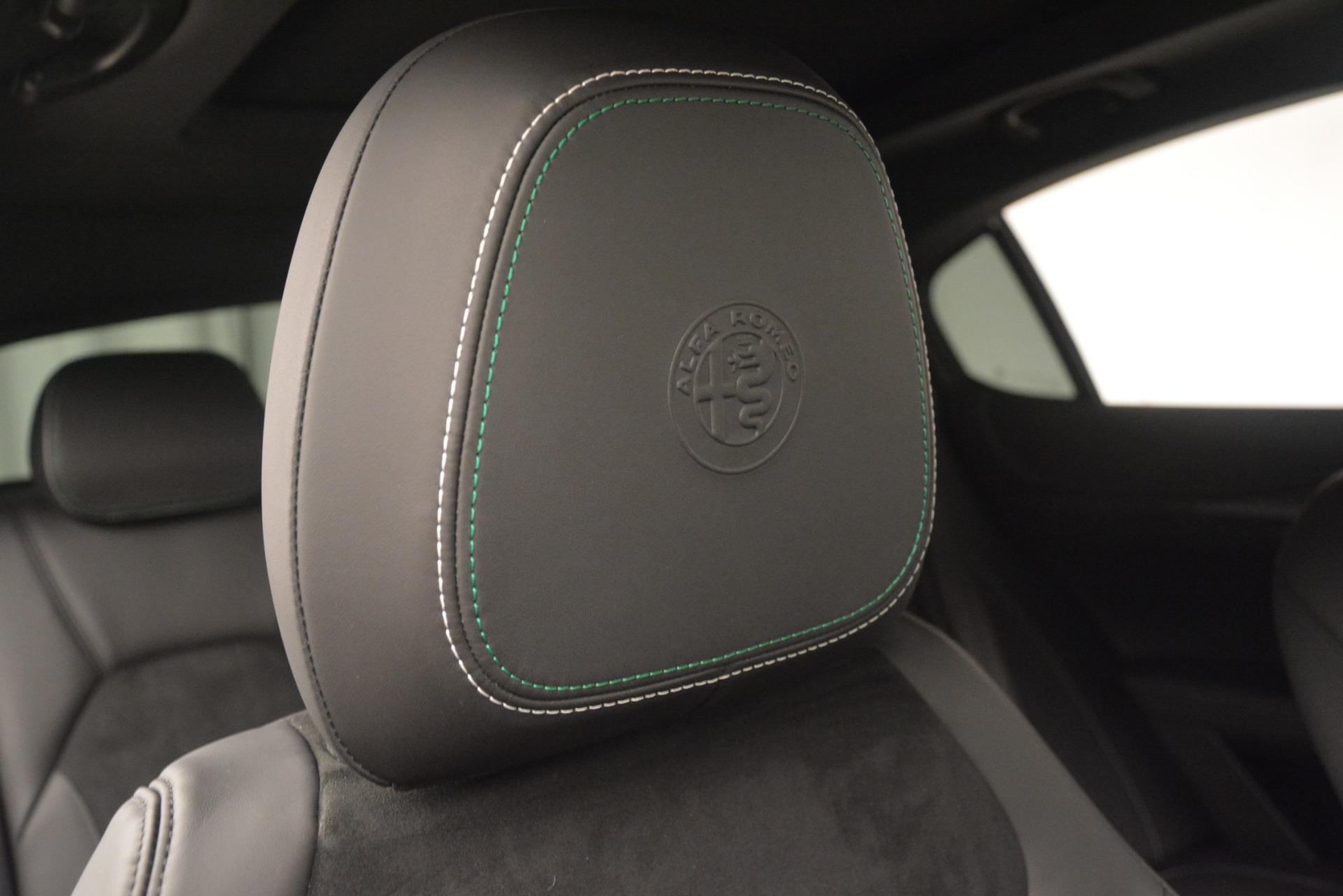 New 2019 Alfa Romeo Stelvio Quadrifoglio For Sale In Greenwich, CT 3038_p34