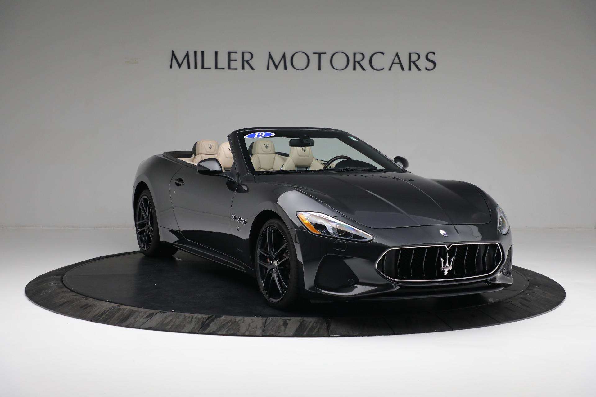 New 2019 Maserati GranTurismo Sport Convertible For Sale In Greenwich, CT 3040_p11