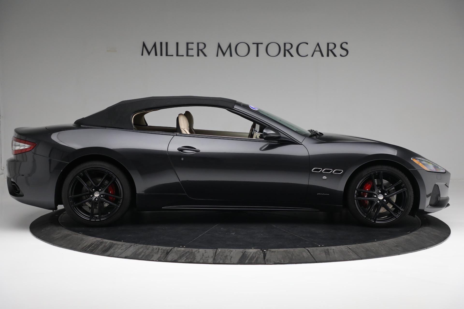 New 2019 Maserati GranTurismo Sport Convertible For Sale In Greenwich, CT 3040_p17