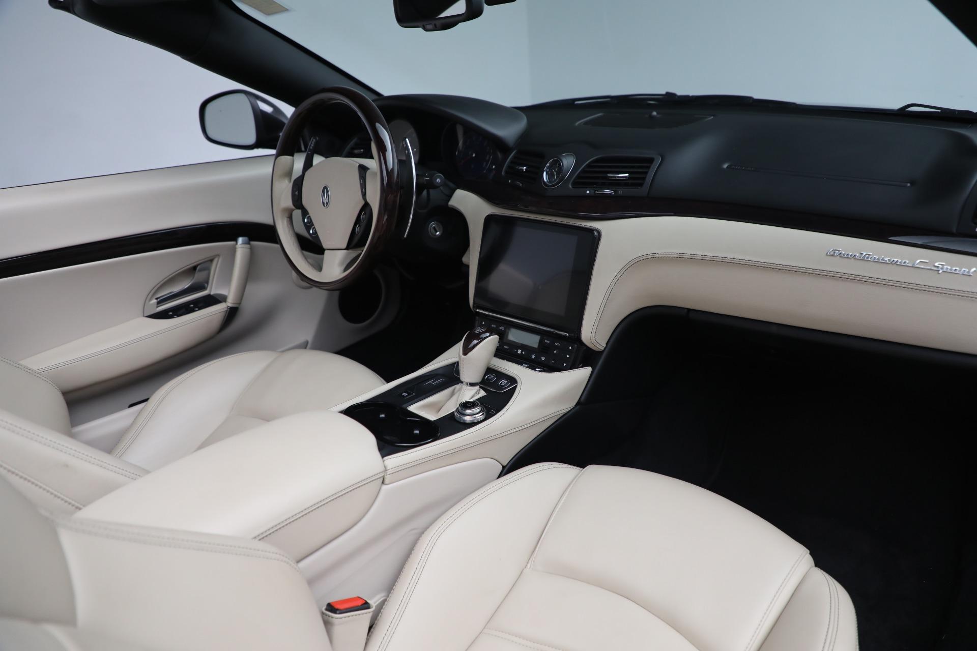New 2019 Maserati GranTurismo Sport Convertible For Sale In Greenwich, CT 3040_p22