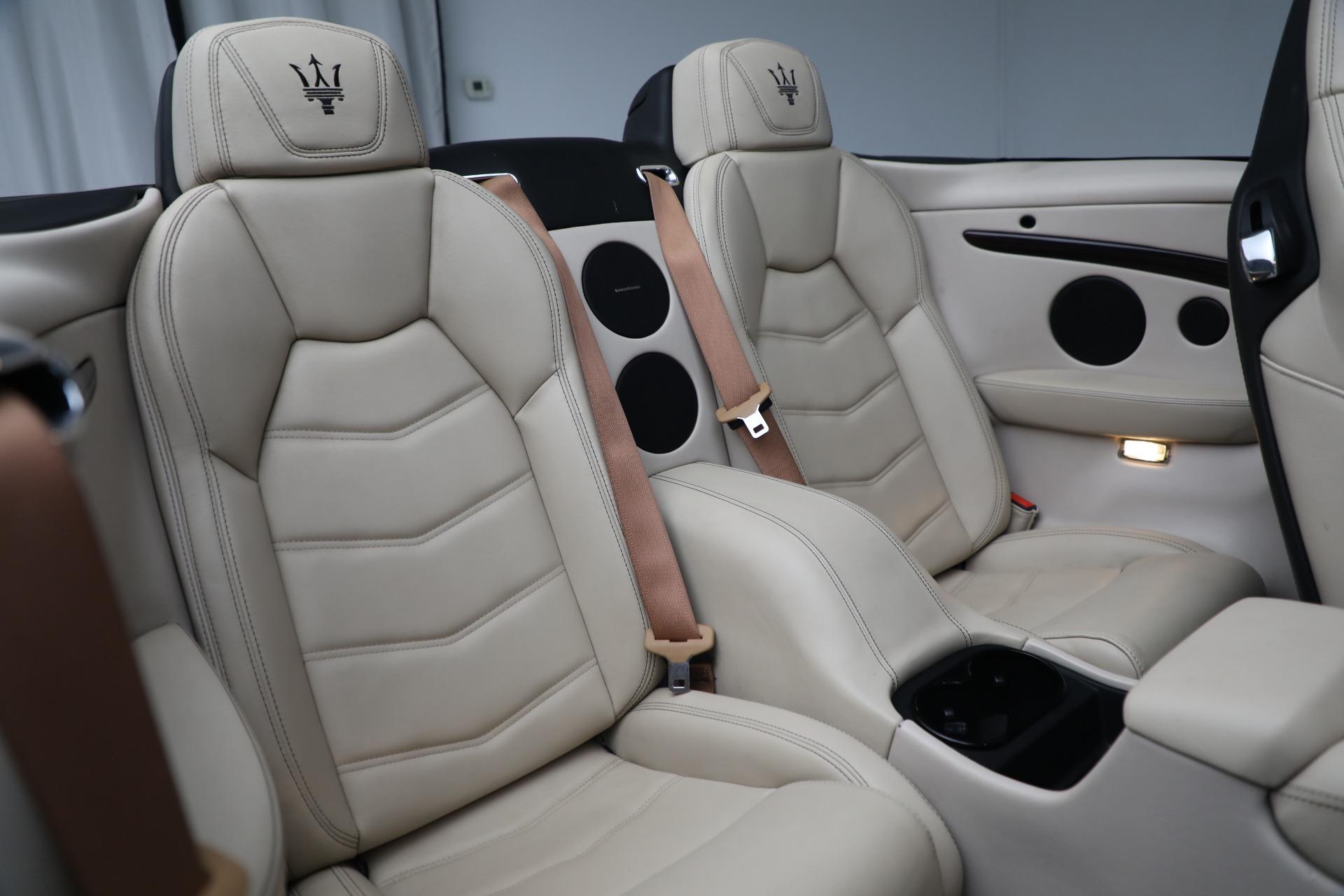 New 2019 Maserati GranTurismo Sport Convertible For Sale In Greenwich, CT 3040_p26